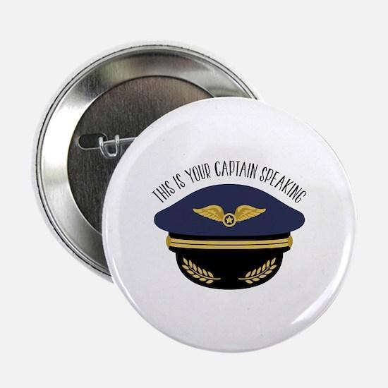 "Your Captain 2.25"" Button (10 pack)"