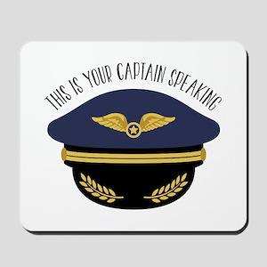Your Captain Mousepad