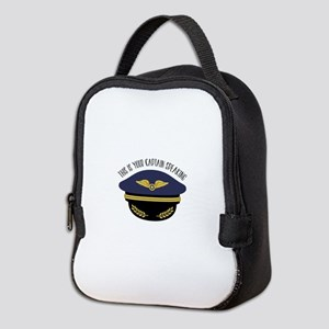 Your Captain Neoprene Lunch Bag