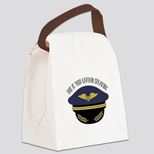 Your Captain Canvas Lunch Bag