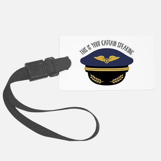 Your Captain Luggage Tag