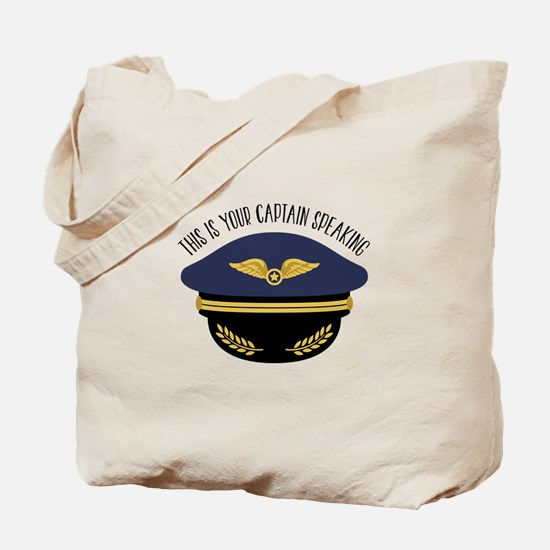 Your Captain Tote Bag