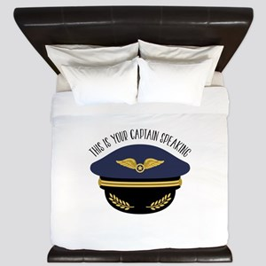 Your Captain King Duvet