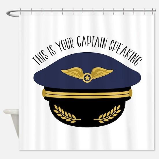 Your Captain Shower Curtain