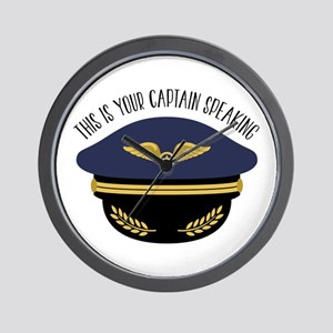 Your Captain Wall Clock