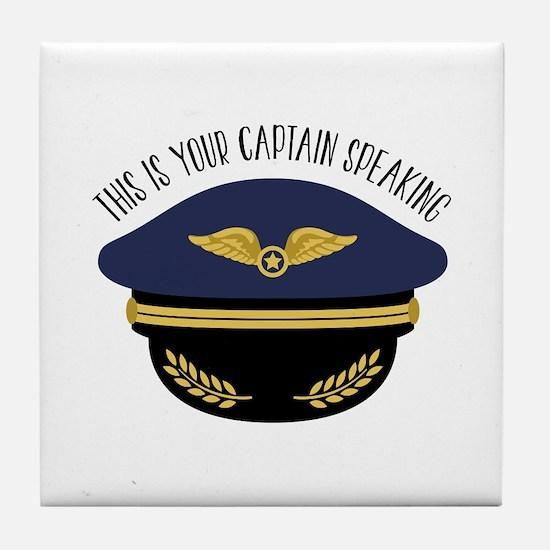 Your Captain Tile Coaster