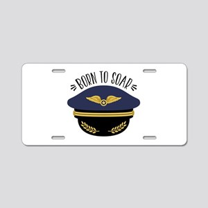 Born To Soar Aluminum License Plate