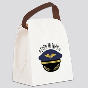Born To Soar Canvas Lunch Bag