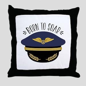 Born To Soar Throw Pillow