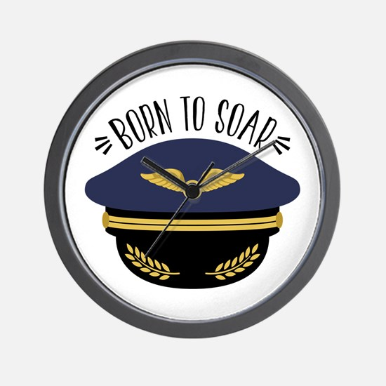 Born To Soar Wall Clock