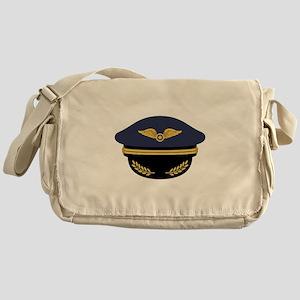Pilot Hat Messenger Bag