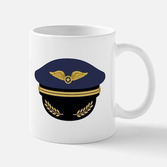 Pilot Hat Mugs