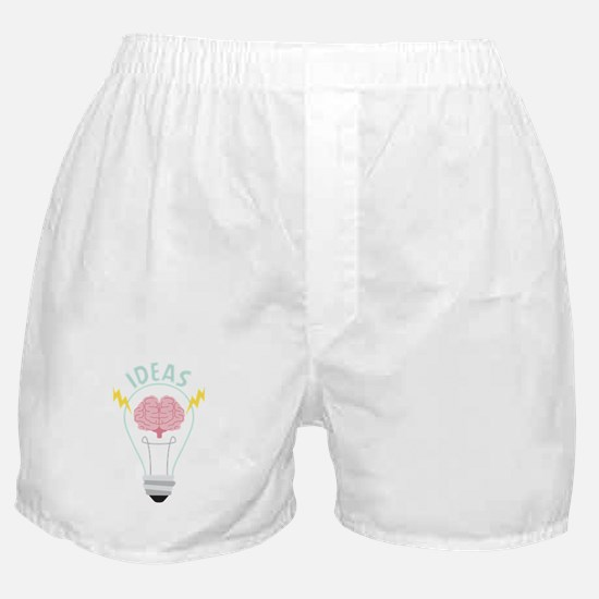 Light Bulb Ideas Boxer Shorts