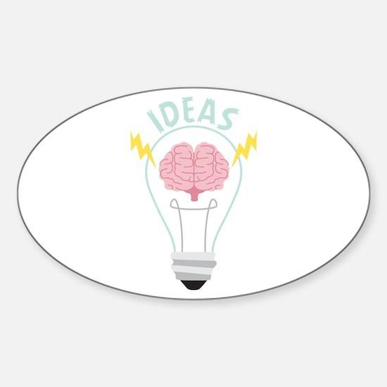 Light Bulb Ideas Decal