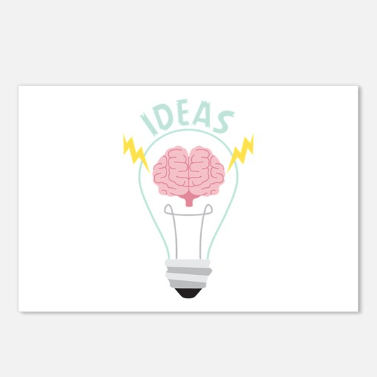 Light Bulb Ideas Postcards (Package of 8)