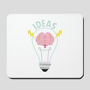Light Bulb Ideas Mousepad