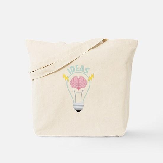 Light Bulb Ideas Tote Bag