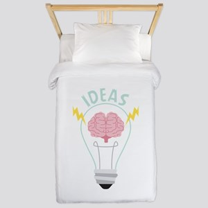 Light Bulb Ideas Twin Duvet