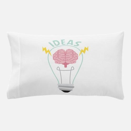 Light Bulb Ideas Pillow Case