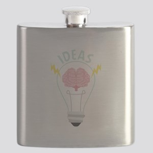 Light Bulb Ideas Flask