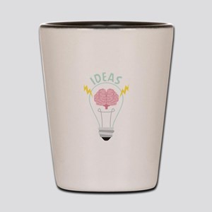 Light Bulb Ideas Shot Glass
