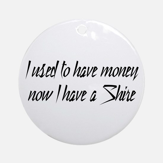 Money or Shire Ornament (Round)