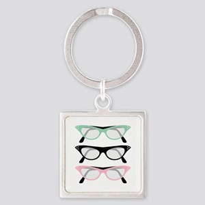 Retro Glasses Keychains