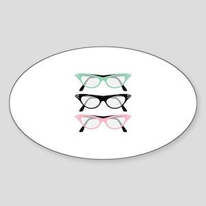 Retro Glasses Sticker