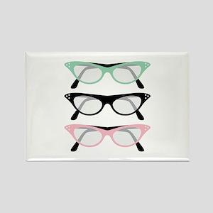 Retro Glasses Magnets