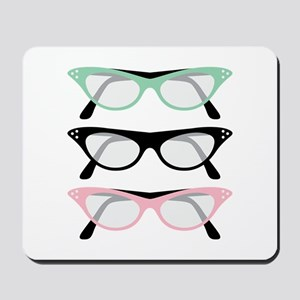 Retro Glasses Mousepad