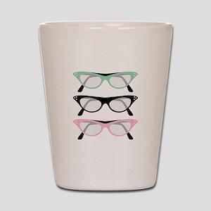 Retro Glasses Shot Glass