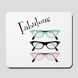 Fabulous Glasses Mousepad
