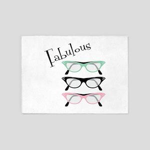 Fabulous Glasses 5'x7'Area Rug
