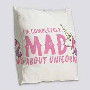 I'm completely MAD about unico Burlap Throw Pillow