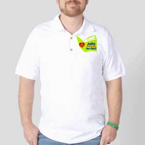 Reading With Your Kids Golf Shirt