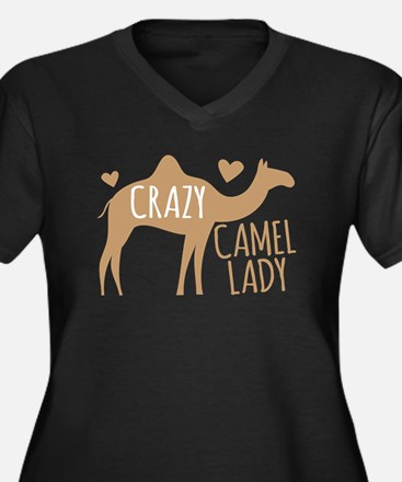 Crazy Camel Lady Plus Size T-Shirt