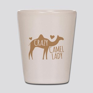 Crazy Camel Lady Shot Glass
