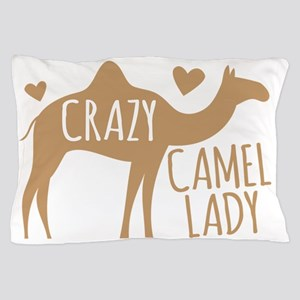 Crazy Camel Lady Pillow Case