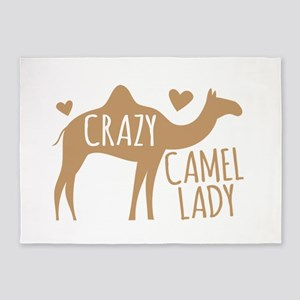 Crazy Camel Lady 5'x7'Area Rug