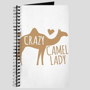 Crazy Camel Lady Journal