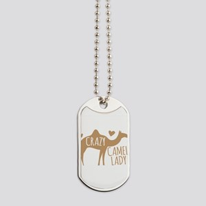 Crazy Camel Lady Dog Tags