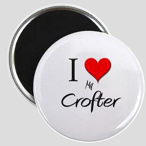 I Love My Crofter Magnet
