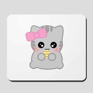 Easter Fun Neko Mousepad