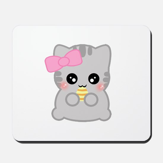 Easter Fun Neko Mousepad
