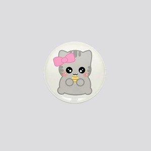 Easter Fun Neko Mini Button