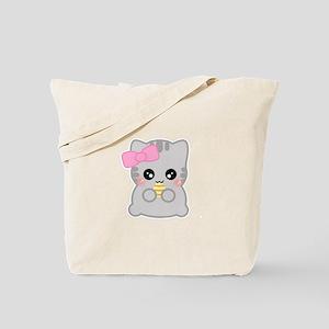 Easter Fun Neko Tote Bag