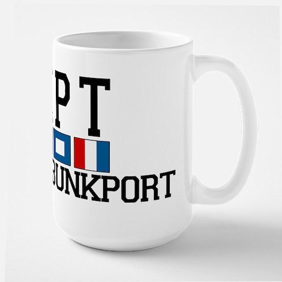 Kennebunkport ME - Varsity Design. Mugs