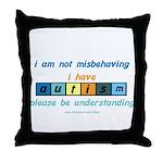Understand Autism Throw Pillow
