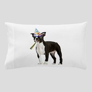 Boston Terrier Party Pillow Case