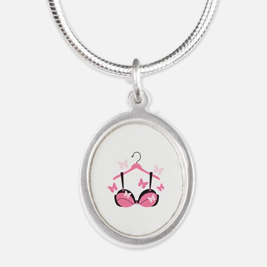 Breast Cancer Bra Necklaces
